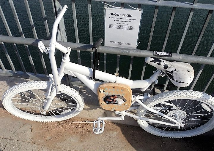 Does your town have a GhostBike?