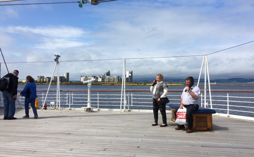 Boarding the Royal YachtBritannia