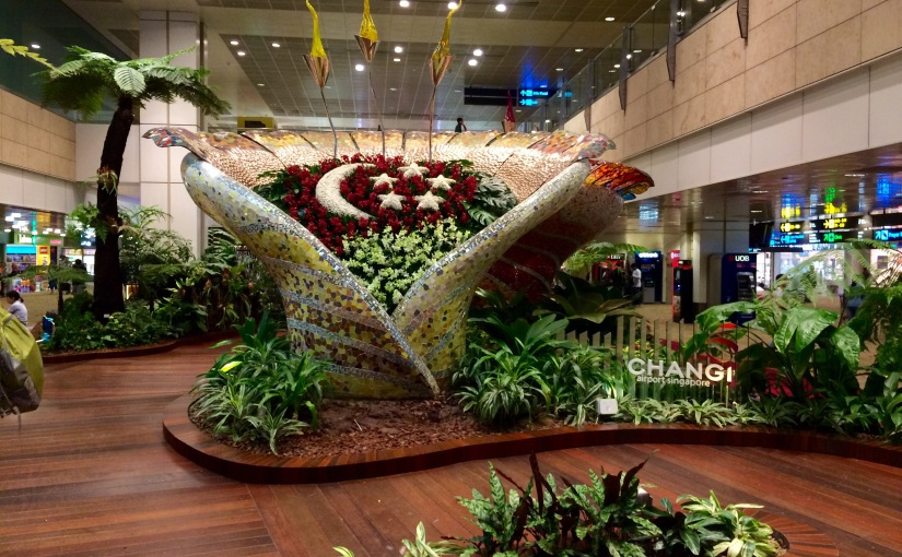 Travel Diary: Changi airport, the best for longlayovers!