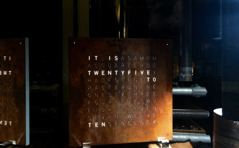 How cool is thisclock?