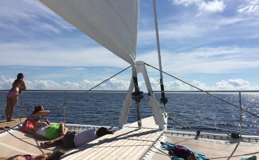 Travel Diary: Cairns, and perfect weather at the Great BarrierReef!