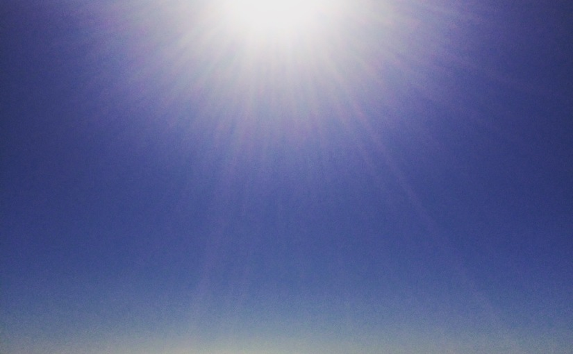 Don't be fooled by Australian beachphotos…