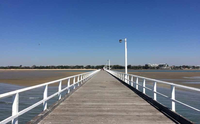 This pier is 2,848ft long