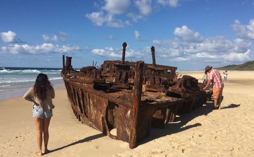 Travel Diaries: There's a WW2 shipwreck on FraserIsland!