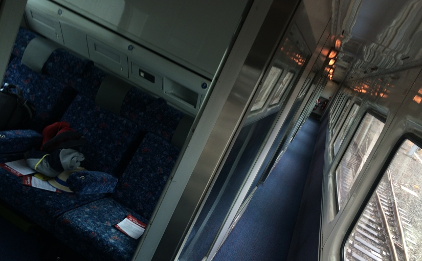 Surviving a 12 hour train ride from Sydney toMelbourne