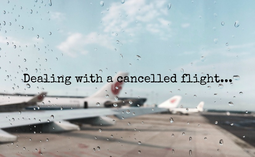My Melbourne flight got cancelled because of thestorms…