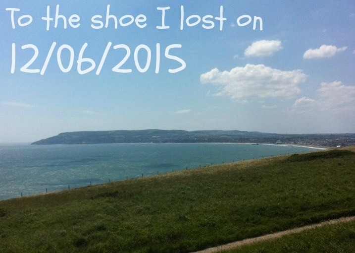To the shoe I lost on12/06/2015