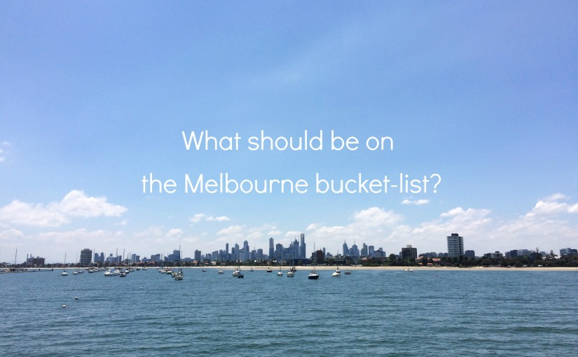 People of Melbourne, what should Ido?