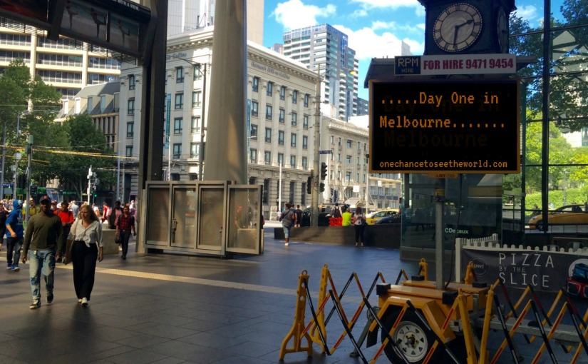 Travel Diary: Arriving in Melbourne