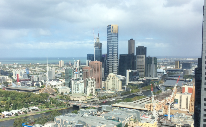 Melbourne blogpost #3 Getting life back on track