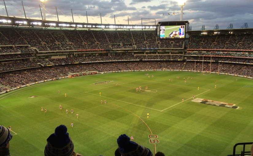 I went to my first AFLgame
