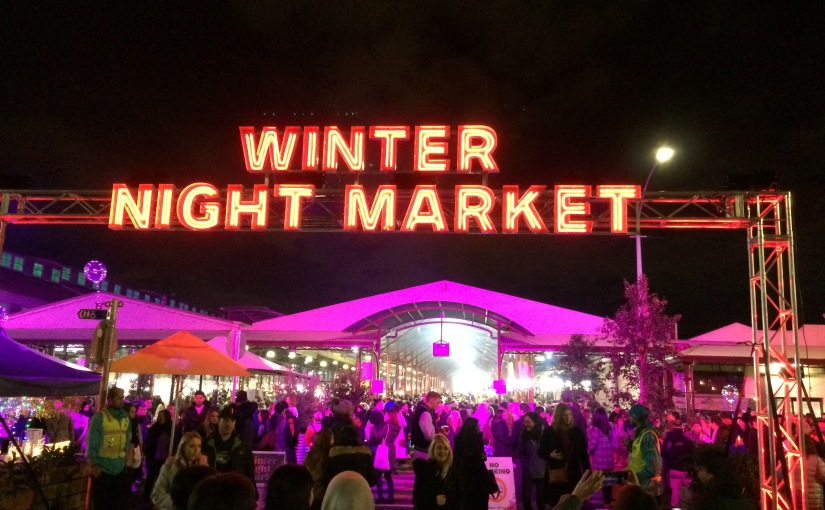 Travel Diary: Finally visiting Melbourne's WinterMarket