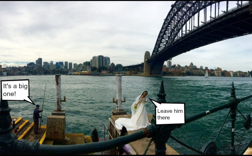 My Australian Journey #7: Newlyweds underneath the harbourbridge