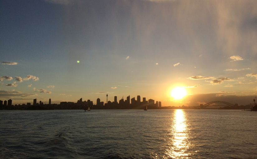 My Australian Journey #8: Rainbows, sunsets and streetperformers