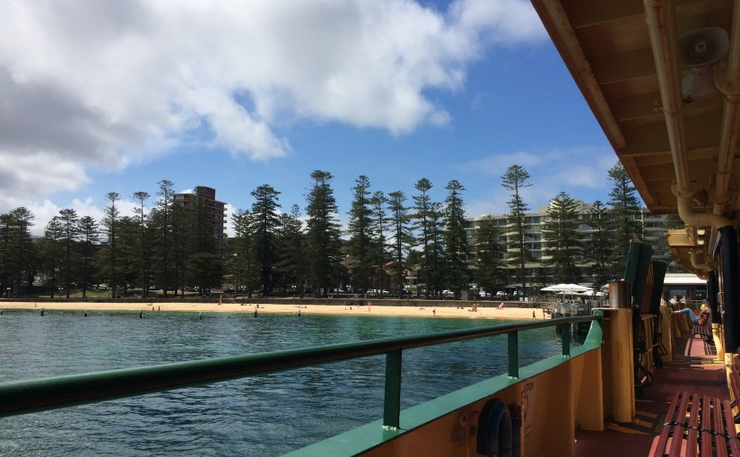 My Australian Journey #13: Sunshine, rain and experiencing the super-moon fromManly