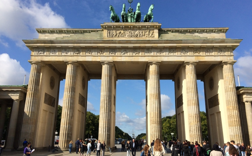 Berlin Part Two: A powerful memorial, the Brandenburg Gate and the ReichstagBuilding
