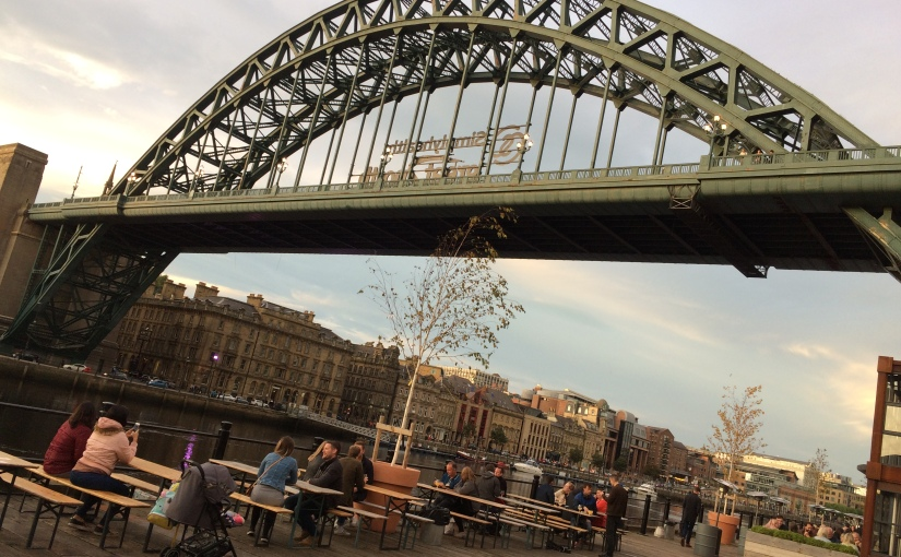 Lots of bridges, Durham, Newcastle and a sport calledFootGolf