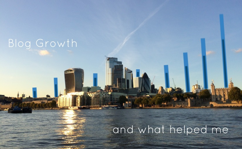 Blog growth- getting those blue barsrocketing