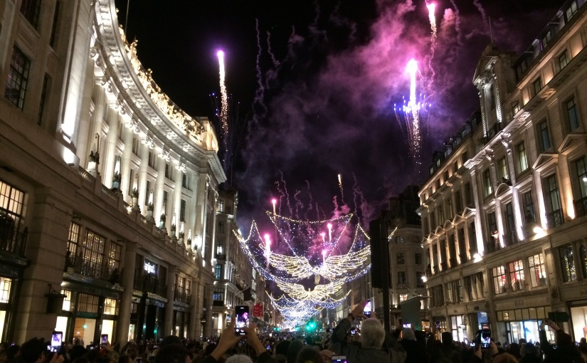 Switching on of Regent Streets famous Christmas lights (on its 200thanniversary!)